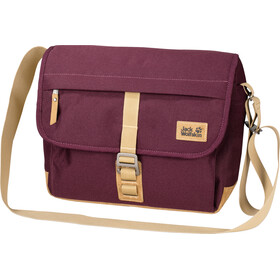Jack Wolfskin Warwick Ave Shoulder Bag burgundy